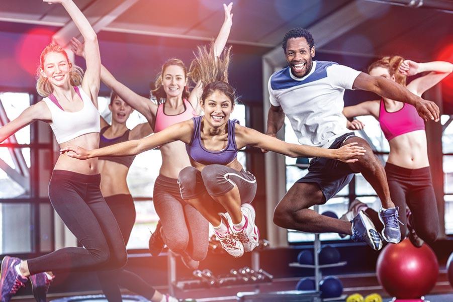 Antallet af danske fitnesscentre stiger stadig